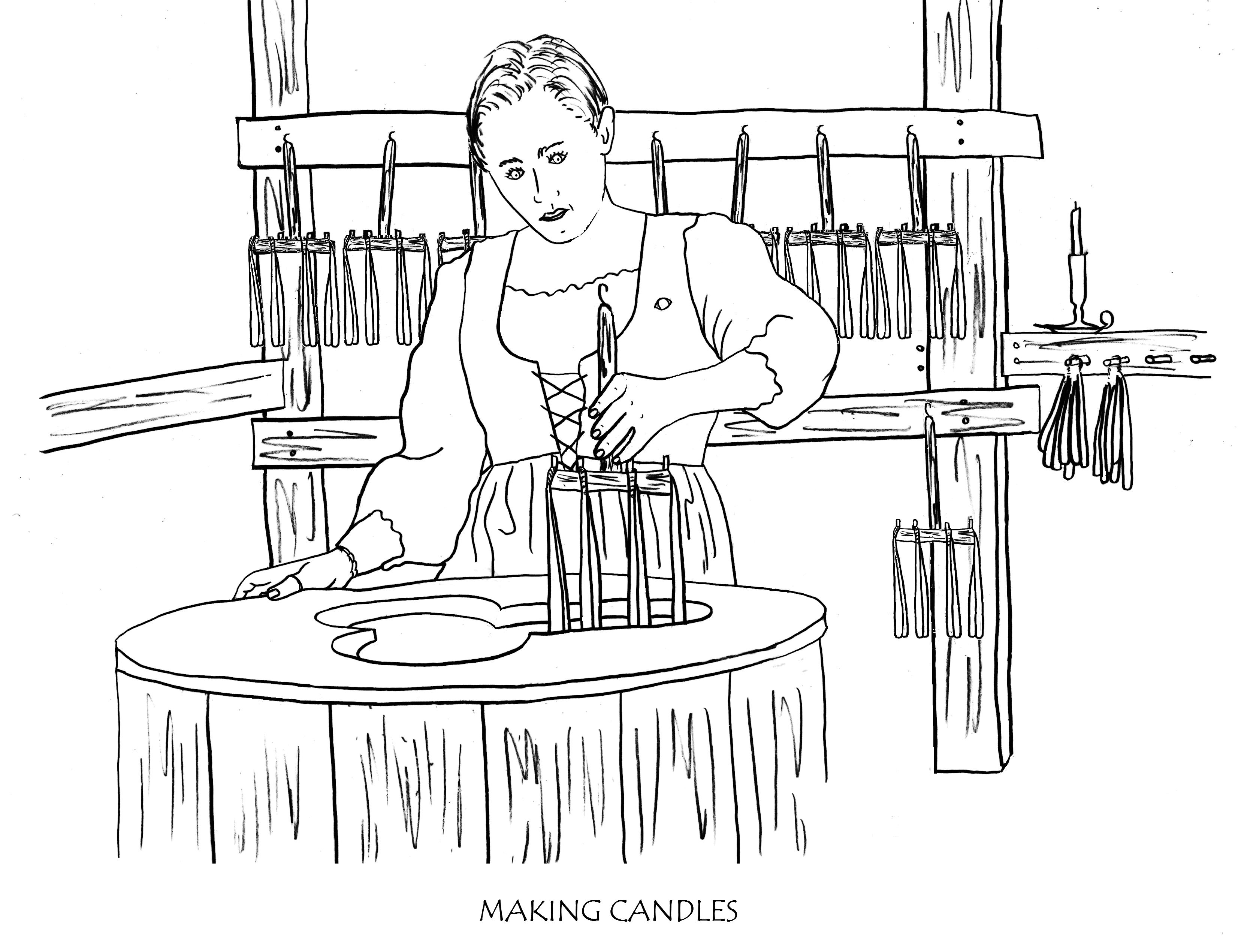 Fort menendez coloring book for Fort coloring pages
